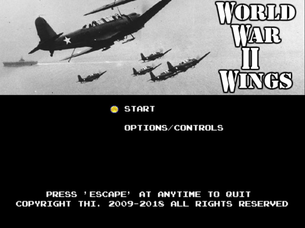 WW2 Aerial combat game